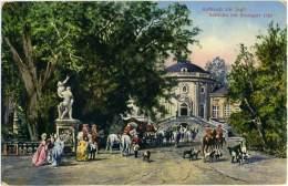 GERMANIA  BADEN-WURTTEMBERG  STUTTGART  Solitude Bei Stuttgart  Aufbruch Zur Jagd - Stuttgart