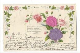 16138 - Bouquet De Fleurs Brodées Sanft Wie Der Mai Blumenkleide.... - Brodées