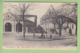 MONBAHUS : Eglise, Marché Couvert Et Place. 2  Scans. Edition Welck - France
