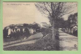 PUJOLS : Vue Générale, Entrée Du Village. 2  Scans. Edition Chabrié - France