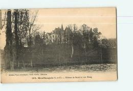 MONFLANQUIN : Château De Martel Et Son Etang. 2  Scans. Edition Garde - Monflanquin