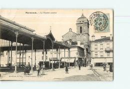 MARMANDE : Le Marché Couvert. 2  Scans. Edition Brune - Marmande