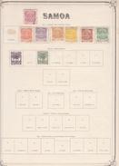 Samoa - Collection Vendue Page Par Page - Timbres Oblitérés / Neufs * (avec Charnière) -Qualité B/TB - Samoa Americano