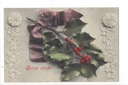 16141 - Bonne Année Branche De Houx - Nouvel An