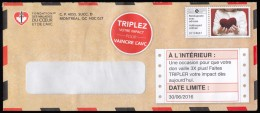 CANADA, Addressed Admail, Médiaposte Avec Adresse (EN324) - 1952-.... Regno Di Elizabeth II