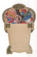 Porte-calendrier à Suspendre - Art Nouveau - Drapeaux - Coiffe Alsacienne - Altri