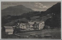 Hotel Sternen, Obstalden - Animee Belebt - Photo: Chr. Tischhauser No. 1037 - GL Glaris