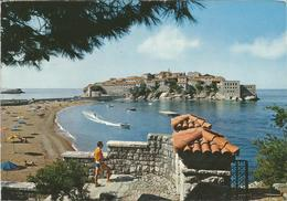 SVETI STEFAN. (scan Verso) - Montenegro