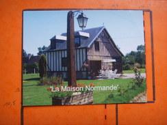 48) La Maison Normande : Le Jardinet : Neuville Sur Touques :  RECTO-VERSO - France