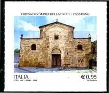 ITALIA / ITALY 2016** - Chiesa Di S.Maria Della Croce - Casarano - 1 Val. Autoadesivo Come Da Scansione - 6. 1946-.. Repubblica