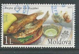 Moldavië, Yv 765  Jaar 2014,  Gestempeld, Zie Scan - Moldavie