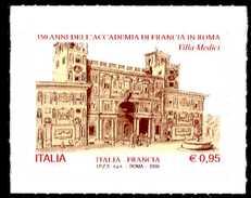 ITALIA / ITALY 2016** - 350 Anni Accademia Di Francia In Roma - Villa Medici - 1 Val. Autoadesivo Come Da Scansione - 6. 1946-.. Repubblica