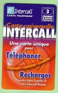 INTERCALL N°375 *** 3F *** Tirage 75300ex *** Code Non Gratte *** (A104-P10) - Prepaid Cards: Other