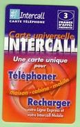 INTERCALL N°375 *** 3F *** Tirage 75300ex *** Code Non Gratte *** (A104-P10) - France