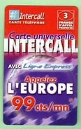 INTERCALL N°374 *** 3F *** Tirage 75300ex *** Code Non Gratte *** (A104-P11) - France