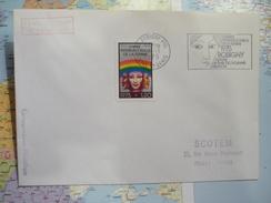 Année Internationale De La Femme 8/11/1975 Bobigny Ppal Premier Jour Sur Timbre Correspondant - Postmark Collection (Covers)