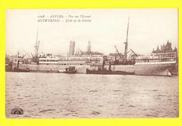 * Antwerpen - Anvers - Antwerp * (Henri Georges, Nr 2028) Vue Sur L'Escaut, Zicht Op De Schelde, Bateau, Péniche, Boat - Antwerpen