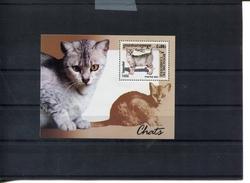 418467685 DB 2001 CAMBODIA POSTFRIS MINT NEVER HINGED EINWANDFREI  SCOTT 2127 KATTEN CATS - Cambodge