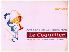 Pa FR/Buvard  Pâtes Le CoquetierBuvard  (N= 2) - Alimentaire