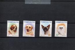 418470497 DB 2005 REP OF CHINA - TAIWAN  POSTFRIS MINT NEVER HINGED EINWANDFREI SCOTT 3652 3655 CATS DOGS KATTEN HONDEN