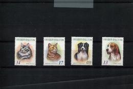 418470654 DB 2005 REP OF CHINA - TAIWAN  POSTFRIS MINT NEVER HINGED EINWANDFREI SCOTT 3712 3715 CATS DOGS KATTEN HONDEN