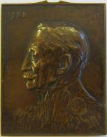 M05187  CHARLES GRAUX - 1908 - Son Buste (206g) - Professionnels / De Société