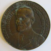M05142 DOCTEUR BERILLON FONDATEUR DE L'ECOLE DE PSICOLOGIE - QUARANTENAIRE DE LA FONDATION  1922 - Son Buste (146g) - Professionnels / De Société