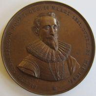 M01990 PIETER CORNELISZOON HOOFT - 1581-1647 - DE OPGAANDE ZON DER HOLLANDSCHE LETTERWIJSHEID  (42g) - Professionnels/De Société