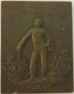 M01984  SOCIETE MILITAIRE D'ESCRIME PRATIQUE - JURY 1909  (60g) - Professionnels / De Société