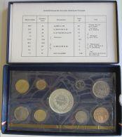 28126g MONNAIE DE PARIS - SERIE FLEURS DE COINS 1975 - Boite D´origine - France