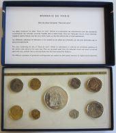 28128g MONNAIE DE PARIS - SERIE FLEURS DE COINS 1976 - Boite D´origine - France