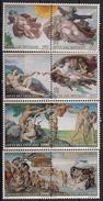 1994 Vatikan Mi. 1107-14 **MNH  Fertigstellung Der Restaurierungsarbeiten In Der Sixtinischen Kapelle. - Unused Stamps
