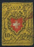 Stamp SWITZERLAND 1850 10rp RAYON - 1843-1852 Correos Federales Y Cantonales