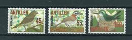 1984 Netherlands Antilles Complete Set Birds,oiseaux,vögel MNH/Postfris/Neuf Sans Charniere - Curaçao, Antilles Neérlandaises, Aruba