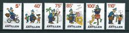 2001 Netherlands Antilles Complete Set Comics,postmen Fedjai,cartoon MNH/Postfris/Neuf Sans Charniere - Curaçao, Nederlandse Antillen, Aruba