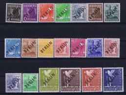 Berlin: 1948  Mi Nr 1 - 20 MNH/**/postfrisch/neuf Sans Charniere - [5] Berlin