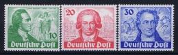 Berlin:  Mi Nr 61 - 63 MNH/**/postfrisch/neuf Sans Charniere  1949  Goethe - [5] Berlin