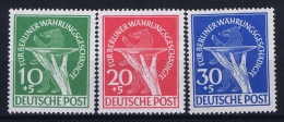 Berlin:  Mi Nr 68 - 70 MNH/**/postfrisch/neuf Sans Charniere  1949  Währungsgeschädigte - [5] Berlin