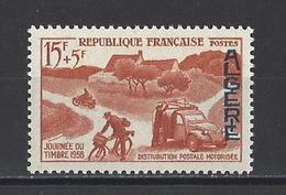 ALGERIE. YT. 350 Neuf ** Journée Du Timbre 1958 - Neufs