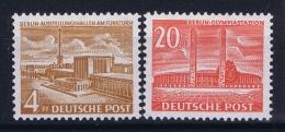 Berlin:  Mi Nr 112 - 113  MNH/**/postfrisch/neuf Sans Charniere 1953 - [5] Berlin