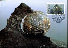16764 Liechtenstein,  Maximum  1989   Mineral, Pyrite Ball - Minerals
