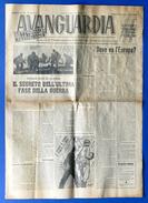 WWII - Avanguardia - Settimanale Della Legione SS Italiana - Anno I - N° 25 - 2 Settembre 1944 - RARITA' - Storia, Biografie, Filosofia