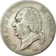 France, Louis XVIII, 5 Francs, 1817, Bayonne, TB, Argent, KM:711.8, Gadoury:614 - Frankreich