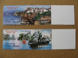 Vietnam Viet Nam MNH SPECIMEN Stamps 2008 : Join Issue With France / Landscape / Ha Long Bay (Ms974) - Viêt-Nam
