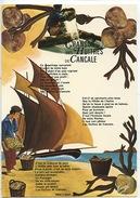 Ostréiculture : Chanson Des Huitres De Cancale (extrait Illustrateur) N°75/35/2748 éd Emge Vierge - Fishing