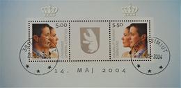 MARIAGE DU PRINCE HERITIER 2004 - OBLITERE - YT BL 29 - MI BL 29 - Groenland