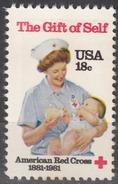 USA 1981, HEALTH, 100 Years AMERICAN RED CROSS, COMPLETE, MNH SET, GOOD QUALITY, *** - Stati Uniti