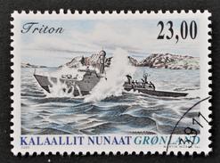 VEDETTE RAPIDE TRITON 2005 - OBLITERE - YT 423 - MI 444 - Groenland