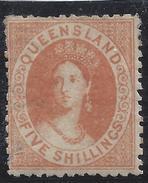 Colonie Anglaise, Queensland,  N° 38 * - Grande-Bretagne (ex-colonies & Protectorats)