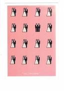 Cpm - Concours 1999 Affiches étudiants Chaumont 52 - Mariage Femme Homme / Gay Hommes Homosexuels - Oui J'accepte - Noces